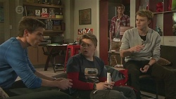 Rhys Lawson, Callum Jones, Kyle Canning, Harley Canning in Neighbours Episode 6489