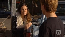 Jade Mitchell, Harley Canning in Neighbours Episode 6490