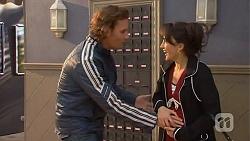 Lucas Fitzgerald, Vanessa Villante in Neighbours Episode 6490