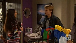 Rani Kapoor, Harley Canning in Neighbours Episode 6490