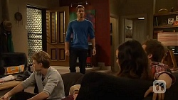 Harley Canning, Rhys Lawson, Jade Mitchell, Kyle Canning in Neighbours Episode 6490