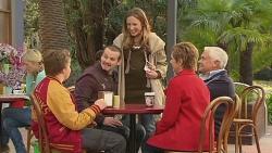 Callum Jones, Toadie Rebecchi, Sonya Mitchell, Susan Kennedy, Lou Carpenter in Neighbours Episode 6491