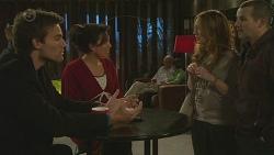 Rhys Lawson, Vanessa Villante, Sonya Mitchell, Toadie Rebecchi in Neighbours Episode 6491