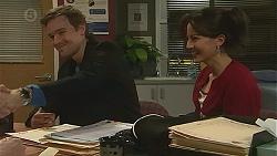 Rhys Lawson, Vanessa Villante in Neighbours Episode 6491