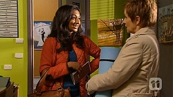 Priya Kapoor, Susan Kennedy in Neighbours Episode 6493