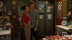 Vanessa Villante, Rhys Lawson in Neighbours Episode 6493