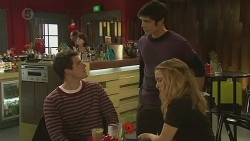 Chris Pappas, Aidan Foster, Natasha Williams in Neighbours Episode 6494
