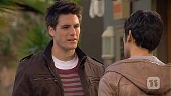 Chris Pappas, Aidan Foster in Neighbours Episode 6495