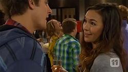 Kyle Canning, Sonya Mitchell, Callum Jones, Jade Mitchell in Neighbours Episode 6495