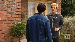 Aidan Foster, Andrew Robinson in Neighbours Episode 6495