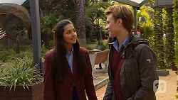Rani Kapoor, Harley Canning in Neighbours Episode 6496