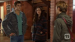 Kyle Canning, Kate Ramsay, Harley Canning in Neighbours Episode 6496