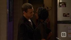 Paul Robinson, Priya Kapoor in Neighbours Episode 6496