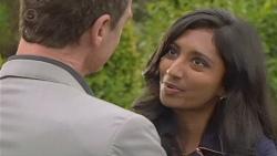 Paul Robinson, Priya Kapoor in Neighbours Episode 6497