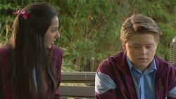 Rani Kapoor, Callum Jones in Neighbours Episode 6497