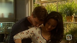 Rhys Lawson, Vanessa Villante in Neighbours Episode 6498