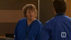 Jessica Girwood, Rhys Lawson in Neighbours Episode 6498