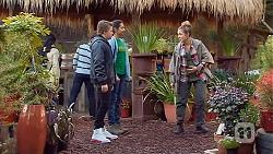 Callum Jones, Rani Kapoor, Sonya Mitchell in Neighbours Episode 6498