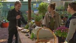 Harley Canning, Sonya Mitchell, Callum Jones in Neighbours Episode 6499