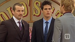 Toadie Rebecchi, Chris Pappas, Andrew Robinson in Neighbours Episode 6500