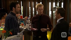 Hamish Campbell, Andrew Robinson, Paul Robinson in Neighbours Episode 6501