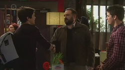 Aidan Foster, George Pappas, Chris Pappas in Neighbours Episode 6502