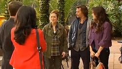 Paul Robinson, Priya Kapoor, Sonya Rebecchi, Lucas Fitzgerald, Kate Ramsay in Neighbours Episode 6503