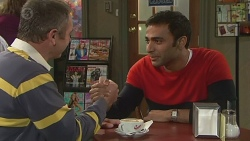 Karl Kennedy, Ajay Kapoor in Neighbours Episode 6504