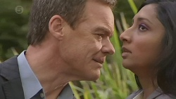 Paul Robinson, Priya Kapoor in Neighbours Episode 6504