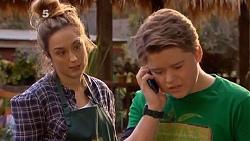 Sonya Mitchell, Callum Jones in Neighbours Episode 6505