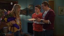 Georgia Brooks, Callum Jones, Toadie Rebecchi in Neighbours Episode 6505
