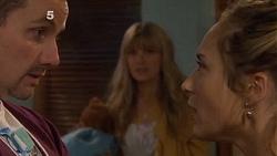 Toadie Rebecchi, Georgia Brooks, Sonya Rebecchi in Neighbours Episode 6505