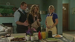 Toadie Rebecchi, Sonya Rebecchi, Georgia Brooks in Neighbours Episode 6506