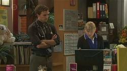 Rhys Lawson, Georgia Brooks in Neighbours Episode 6506
