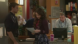 Rhys Lawson, Kate Ramsay, Karl Kennedy in Neighbours Episode 6506