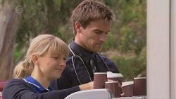 Georgia Brooks, Rhys Lawson in Neighbours Episode 6506