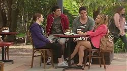 Summer Hoyland, Aidan Foster, Chris Pappas, Natasha Williams in Neighbours Episode 6506