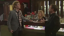 Andrew Robinson, Natasha Williams, Paul Robinson in Neighbours Episode 6507