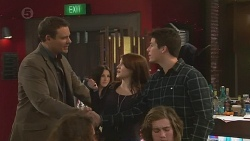 Bradley Fox, Summer Hoyland, Chris Pappas in Neighbours Episode 6508