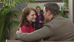 Summer Hoyland, Susan Kennedy, Bradley Fox in Neighbours Episode 6509