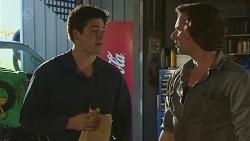 Chris Pappas, Lucas Fitzgerald in Neighbours Episode 6510