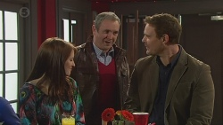 Summer Hoyland, Karl Kennedy, Bradley Fox in Neighbours Episode 6510