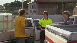 Kyle Canning, Truck Driver, Harley Canning in Neighbours Episode 6513
