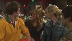 Kyle Canning, Natasha Williams, Georgia Brooks, Aidan Foster in Neighbours Episode 6513