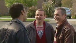 Ajay Kapoor, Toadie Rebecchi, Karl Kennedy in Neighbours Episode 6514