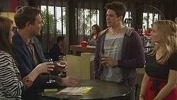 Summer Hoyland, Bradley Fox, Chris Pappas, Natasha Williams in Neighbours Episode 6514