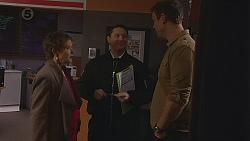 Susan Kennedy, Security Guard, Bradley Fox in Neighbours Episode 6515