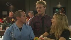 Toadie Rebecchi, Andrew Robinson, Natasha Williams in Neighbours Episode 6515