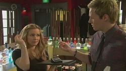 Natasha Williams, Andrew Robinson in Neighbours Episode 6515