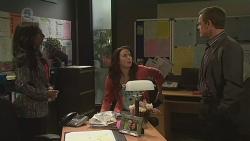 Priya Kapoor, Kate Ramsay, Paul Robinson in Neighbours Episode 6516